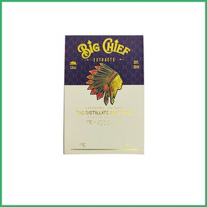 Os mais recentes arrivial Big Chief carrinhos Vape Cartuchos caixas de cartuchos de vape vazio 0,8 / 1,0 ml pacote KRT Carrinho Ceramic Bobina Atomizador