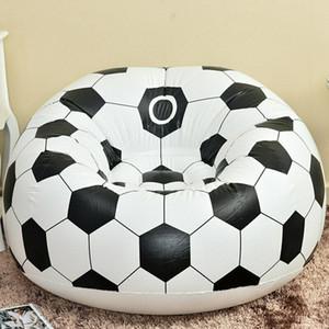Flocage Inflation Football Basketball Sofa PVC Appartement Maison Ameublement Canapé simple personne souple Canapé Bibelot 20pcs CCA11691-A