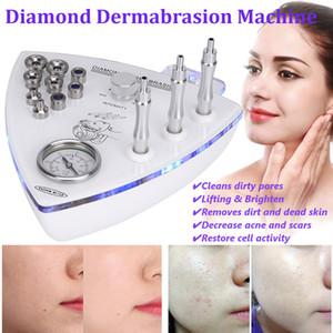 2019 Pro Diamond Microdermabrasion Dermabrasion 얼굴 껍질 진공 스프레이 기계
