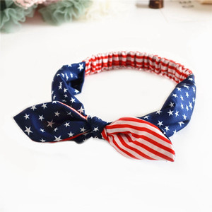 Mommy And Me 4th of July Headband For 2020 Independence Day Girls Patriotic Hair Accessories American Flag Hair Band