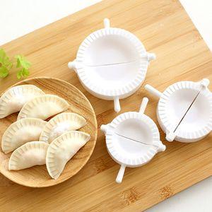 Yeni 3adet Basın Ravioli Hamur Börek Dumpling Maker Gyoza Araçları Kalıp Aracı 3 Boyut Kolay Çevre Dostu Dumpling Kalıp Promosyon