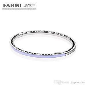 WPENNYI 100% de plata esterlina 925 1: 1 pulsera básico original auténtico encanto 590537EN66 adecuados joyería de bricolaje con cuentas Mujeres