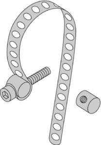 Turck KLP 80-VA 69654 Assembly Belt for Round Air Pneumatic Cylinder