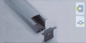 Бесплатная доставка 2 м /шт новое поступление встраиваемый алюминиевый светодиодный профиль использование для прокладки в пределах 12 мм Led Bar Light Led Profile Aluminium