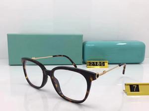 Mais recentes mulheres eleglant óculos ópticos armação leve TF2180 54-18-145 para óculos graduados full-set case freeshipping