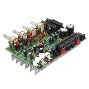 Freeshipping Placa de circuito eletrônico 12V 60W Hi Fi Stereo Digital Audio Power Amplifier Tone Volume Control Board Kit 9 centímetros x 13 centímetros