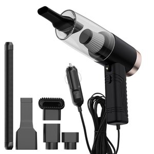 Portable Handheld Car Vacuum Cleaner with + Car Perfume for Outdoor Personal 12V 120W LED Ornaments