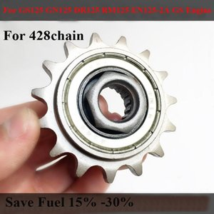 Motorcycle 428 Flywheel Glide Front Sprockets Fuel Economy For Gs125 Gn125 Dr125 Rm125 Gs Engine Hyosung 125 Sprocket