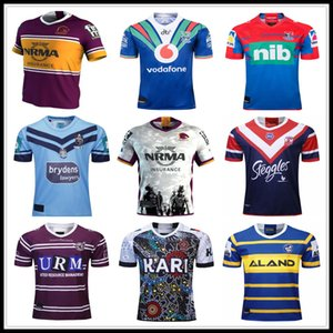 19 20 Brisbane Broncos Parramatta Eels Australis Sydney Roosters Rugby-Trikot 2019 HOLDEN BLUES Knights Warrior INDIGENOUS Sea Eagles
