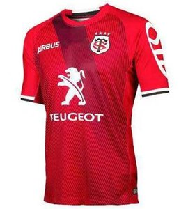 2019 Toulouse Rugby Jerseys League jersey National Team 19/20 Migliore qualità Toulouse Rugby Jerseys Sport tempo libero Lentulus shirts S-3XL