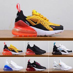 2019 En Yeni 27C hava Yastık Örme Nefes Çocuk ayakkabılar erkek kız genç çocuk spor Sneaker boyutu 28-35 J-HSA Running