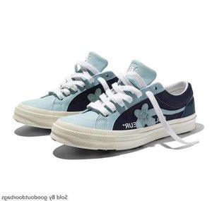 Tyler x One Star Ox Golf Le Fleur Designer Sneakers TTC Casual para Skateboarding Sport Shoes Mulheres L15