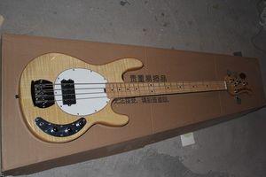 Бесплатная доставка !! Горячие продажи высокого качества Ernie Ball Musicman Music Man Sting Ray 4 Strings Electric Bass Guitar На складе