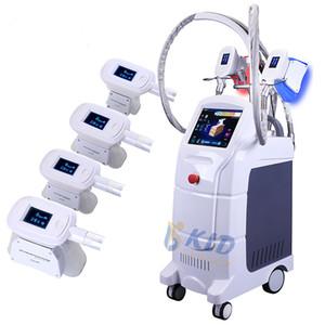 2020 Profesyonel 4 Handpiece Cryolipolisis Criolipolisis Yağ Azaltma Soğuk Lipoliz Makinesi 15 Inç LCD Yüksek Sınıf Salon Ekipmanları
