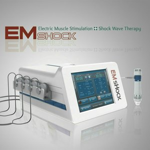 Kaphatech EMSHOCK Orthopedics Rehabilitation Equipment Shockwave Therapy Device With EMS For Better Physiotherapy With CE approve