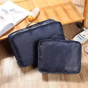 Japanese and Korean waterproof cosmetic female Portable Travel large cosmetic storage capacity simple storage bag washing bag