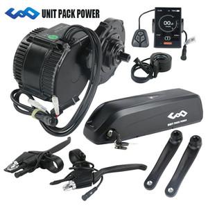 Envío libre 36V 250W BBS01 8Fun / Bafang kit de motor de accionamiento de manivela media con 36V 13AH EBIKE batería de litio Hailong