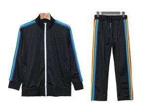 Nuevo 2021 de Palm impresos Ángeles Diseñador chándales de los hombres de alta calidad de la primavera del chándal otoño diseñador chaquetas blancas del basculador Sporting Traje