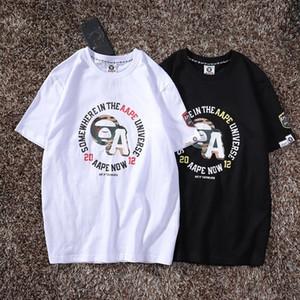 nuevos cortos de marca tees mujeres de los hombres las camisas de lujo de moda de verano para hombre Designered camiseta de manga corta top calificado Tees impresa letra 20021306T
