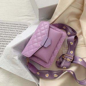 Simple 2020 Hot Sale Vintage Retro Bags Ladies Hand Bags French Plaid Bag Woman Elegant Bolsa Feminina Shoulder A9