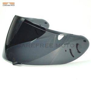 Mask Helmet Motorcycle 2 CW1 Lens Full Visor Shield Case Smoke SHOEI Visor CW-1 X-12 XR-1100 Qwest X-Spirit For X12 Face Dark Karhn
