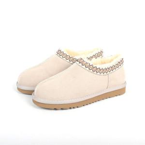 alta calidad Australia TASMAN SLIPPER Botas mujer clásicos de los hombres botas de invierno poco profundas ug tobillo de la nieve zapatos de mujer botas de invierno botas de size35-44