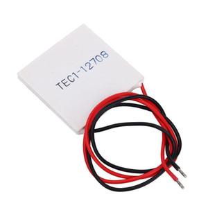 Accessoires de refroidissement TEC1-12708 Dissipateur Cooler thermoélectriques de refroidissement à effet Peltier Plate Module 40mm x 40mm x 3.6mm Taille 20