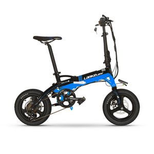 A6 High quality folding 14 inch ebike 36V 8.7AH L G Lithium Battery with 240W motor brushless motor mini electric bike on sale