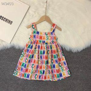 Nova Chegada babys Verão Princess Party Baby Dress criança Girls Dress Crianças de casamento vestidos sem mangas