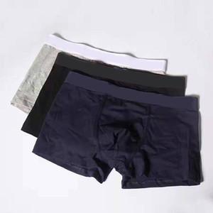 Cuecas Man Calcinhas de algodão Mens Boxer Shorts Roupa Interior Hot Masculino Men Underwear Boxer Men Confortável respirável Cuecas Boxer