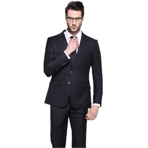 2019 New Fashion men's suit Mens Wedding Suits Business Suits Groom Tuxedos Slim Formal Blazers Black
