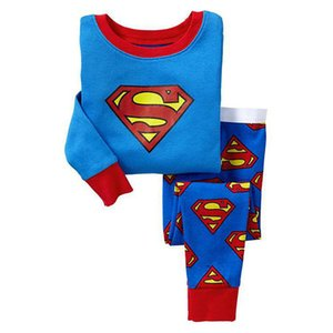 Europe And America Cartoon Children Underwear Sets Superman Batman Spider-Man Pure Cotton Tracksuit Qingdao Childrenswear