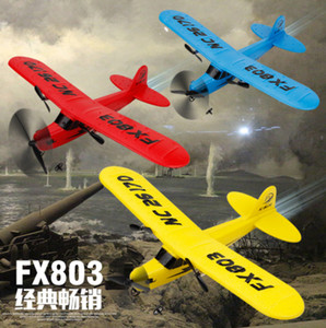 Flash LED RC Jet Shatter Resistant Foam Modell RC Airplane 6ch Fernbedienung Ebene Große Gleiter Spielzeug