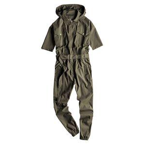 هوب KIOVNO الرجال الهيب مريلة ملابس مقنع أزياء حللا عادية للذكر السراويل الحجم S-2XL الحمالة