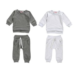 Emmababy Autumn Newborn Kids Baby Boy Girl Clothes Tops Romper Jumpsuit Pants Baby Child Outfits Clothes Set