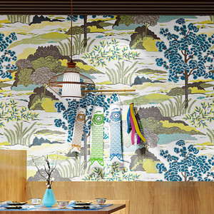 3D romantic landscape wall mural Japan personality beautiful wallpaper living room dining room study household background