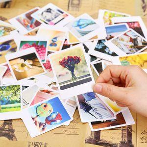 Cheap Paper Envelopes 55 Pcs Pack Vintage garnish Mini Lomo Greeting Postcard Birthday Letter Envelope Gift Card Set Message Card