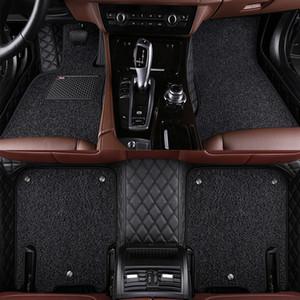 Las alfombrillas personalizadas se ajustan al Nissan Murano Sentra Sylphy Tiida CTR LANNIA altima Rouge X-trail todo el estilo del automóvil Revestimiento de alfombra para automóvil