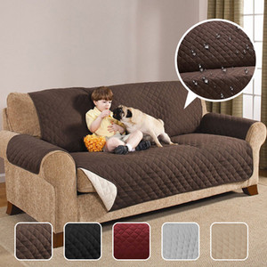 Waterproof Quilted Sofa Couch Covers for Dogs Pets Kids Anti-Slip Recliner Slipcovers Armchair Furniture Protector 1 2 3 Seater