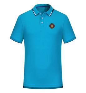 atlanta united FC spring and summer new cotton football Pólo Camisa de manga curta lapel polo masculino pode ser DIY custom's polo camisa