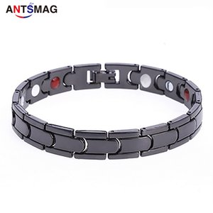 1 Pcs Women Men Magnetic Bracelet Magnet Chain Alloy Anti-snoring Healthcare