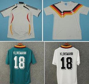 Top 1988 1990 Retro Jerseys VINTAGE CLASSIC KLINSMANN Soccer Jersey 1994 2006 Football Shirt MATTHAUS maillot de foot