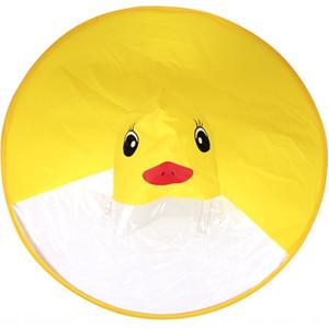 Tiktok UFO raincoat cloak cloak children little yellow duck raincoat hat boys little duck children