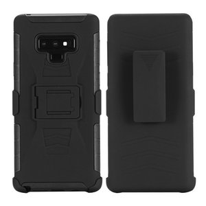 Belt Clip Holster Defender Armor Case for Samsung Galaxy S8 S9 Plus Note 8 9 J2 Prime G530 Shockproof Cover w  Kickstand