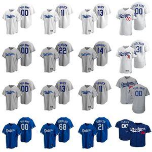 7 Julio Urias Jersey Womens Matt Beaty 73 Zach McKinstry 31 Joc Pederson 66 Yasiel Puig 62 Luke Raley Baseball Jerseys Custom Stitched