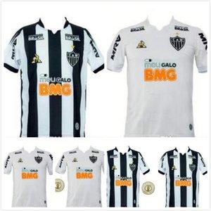 Novo 2019 2020 Atletico Mineiro de Futebol Jersey casa branca afastado preto Mineiro 19 20 camiseta Juan Cazares AUTO TRUCK yimmi chará Football Shirt