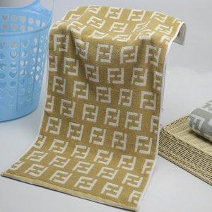 20SS الصرفة القطن المناشف الفاخرة F رسالة سميكة منشفة الأزياء منشفة حمام قوي امتصاص الماء الشحن عالية الجودة مجانا