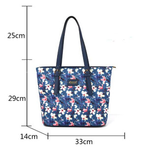 Designer-stampa e tintura Spalla Fiore singolo sacchetto Support Pack Special età Ins Vento Tempo libero Pacchetto Shopping Oblique Satchel