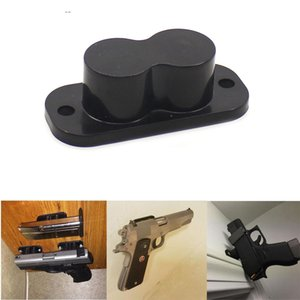 Magorui Tactical Gun Ímã Mount Coldre Magnético 25LB Rating Concealed Gun Titular com Tampa Anti-Risco e Parafusos