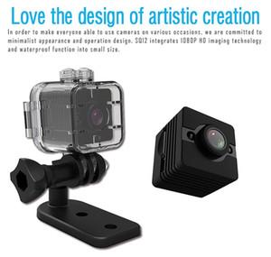 SQ12 visión nocturna resistente al agua Mini DV DVR FULL HD 1080P H.264 12.0mp CMOS Mini movimiento de la cámara grabadora de vídeo de detección de micro